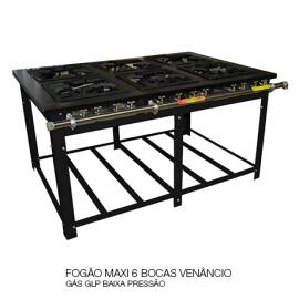02 FOGÃO MAXI 6 BOCAS VENÂNCIO