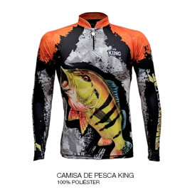04 CAMISA DE PESCA KING