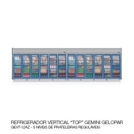"""04 REFRIGERADOR VERTICAL """"TOP"""" GEMINI GELOPAR"""