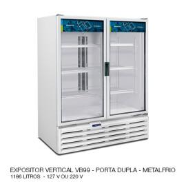 05 EXPOSITOR VERTICAL VB99 PORTA DUPLA METALFRIO