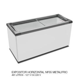 06 EXPOSITOR HORIZONTAL NF55 METALFRIO