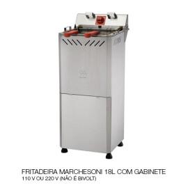 06 FRITADEIRA MARCHESONI 18L COM GABINETE