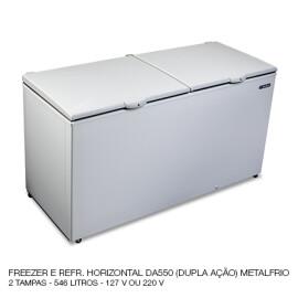 07 FREEZER E REFR HORIZ DA550 METALFRIO