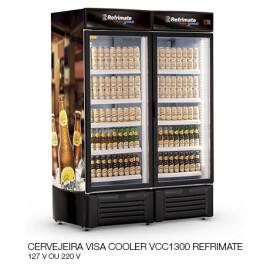 09 CERVEJEIRA VISA COOLER VCC1300 REFRIMATE