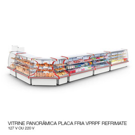 09 VITRINE PANORÂMICA PLACA FRIA VPRPF REFRIMATE